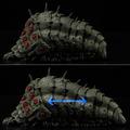 「【千値練】タケヤ式自在置物 風の谷のナウシカ 王蟲」35,200円(税込)(C)Studio Ghibli(C)竹谷隆之・山口隆