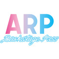 『ARP Backstage Pass』ロゴ(C)ARPAP(C)YUKE'S Co., Ltd. ALL RIGHTS RESERVED.