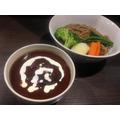自家製麺ほうきぼし「濃厚ビーフデミ☆焙煎珈琲つけ麺」