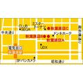 「虎角商店」地図