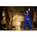 James Monroe Iglehart as Genie in ALADDIN.Photo by Cylla von Tiedemann(C)Disney