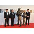 CGアニメそのまま「アップルシード アルファ」デュナンとブリアレオス 東京国際映画祭レッドカーペットに