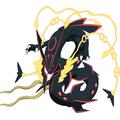 色違いのメガレックウザ (C)Nintendo・Creatures・GAME FREAK・TV Tokyo・ShoPro・JR Kikaku(C)Pokemon (C)2015 ピカチュウプロジェクト