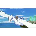 ルギア「幻のポケモンルギア爆誕」(99)に登場。「海の神」と呼ばれるポケモン。