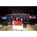 藍井エイルが初のシンガポール単独公演 野外会場に約800人のファンが集結