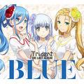 """Trident、ラストアルバム""""BLUE""""クロスフェード公開 アニメ「アルペジオ」は最後も熱い"""