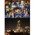 「BLACK IMPACT PROJECT~地上300mの夜景をジャック!?~」(C)2016 青山剛昌/名探偵コナン製作委員会