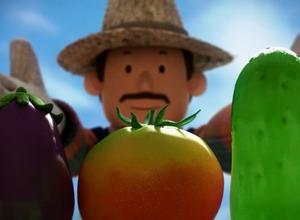 「トマトになった男の子」 みやぎ生協のオリジナルアニメで野菜ブランドをアピール 画像