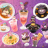 「PURO HALLOWEEN PARTY」限定フード(C)1976, 2009 SANRIO CO., LTD.  (C)1976, 1989, 1993, 1999, 1996, 2001, 2020 SANRIO CO., LTD.