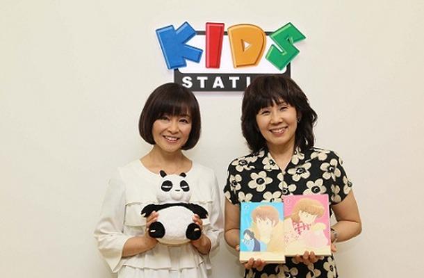 左)日高のり子さん 右)島本須美さん