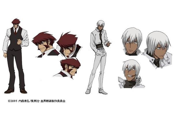 「血界戦線」キャラクター設定画を初公開 内藤泰弘が原作の