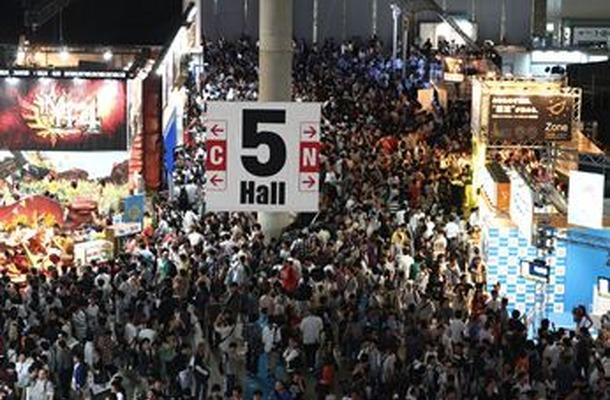 東京ゲームショウ2012 会場の様子
