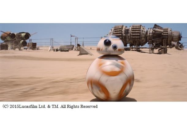 BB-8誕生の秘密が明かされる 「スター・ウォーズ/フォースの覚醒」特別映像公開