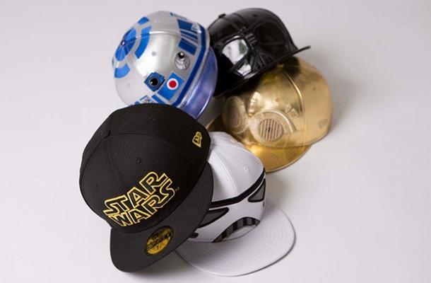 ニューエラが「スター・ウォーズ」とコラボ ダース・ベーダーも帽子で表現