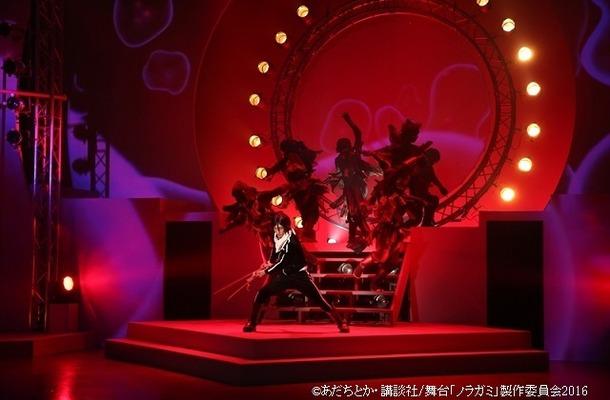 舞台「ノラガミー神と願いー」、心の弱さに抗う物語、アナログ×ハイテクで作品世界を魅せる