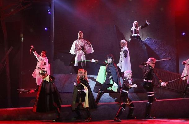 (C)鏡貴也・山本ヤマト・降矢大輔/集英社(C)「終わりのセラフ」The Musical製作委員会2016
