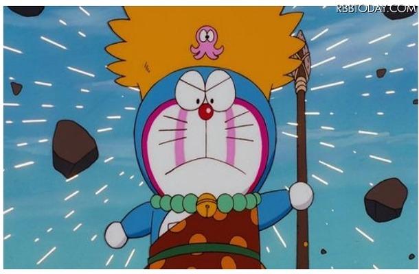 4Kになった『映画ドラえもん のび太の日本誕生』 (C)藤子プロ・小学館・テレビ朝日・シンエイ・ADK 1989