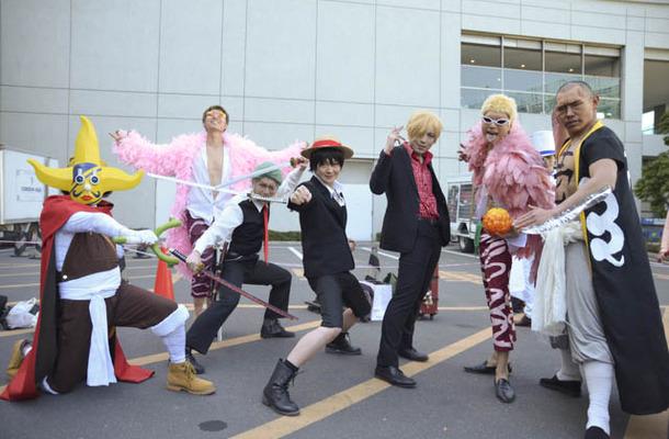 AnimeJapan 2016 コスプレイヤーズワールドに人気キャラ集結! 「刀剣乱舞」から「アイカツ」まで