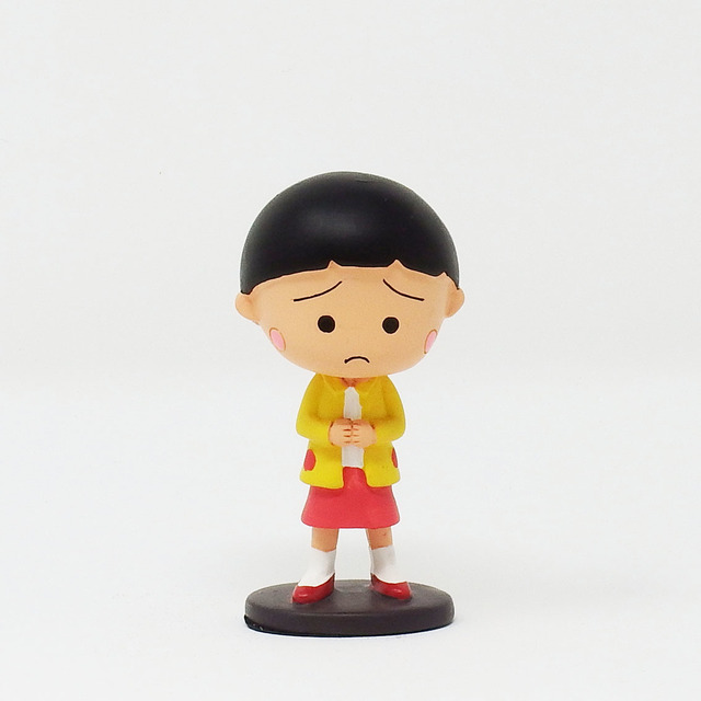「CHIBI MARUKO CHAN WORLD SQUARE」フィギュア(髪が短いまる子) 2,800円+税 (C)S.P/N.A