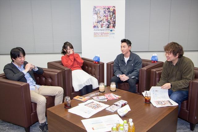左から北村耕太さん、藤田茜さん、鈴木崚汰さん、野島鉄平さん
