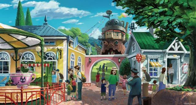 「ジブリパーク」基本デザイン「魔女の谷エリア」(C)Studio Ghibli