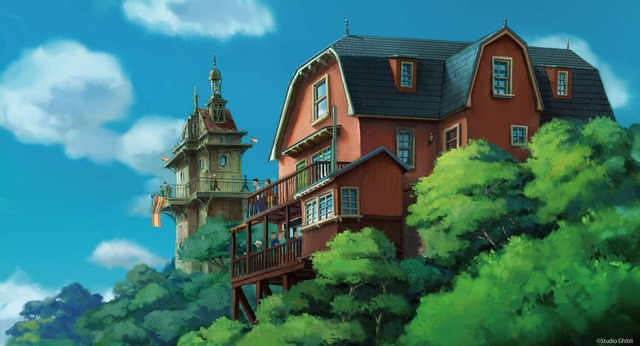 「ジブリパーク」基本デザイン「青春の丘エリア」(C)Studio Ghibli