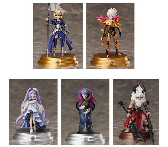 「Fate/Grand Order Duel -collection figure-」シリーズ第2弾ラインナップ(C)TYPE-MOON / FGO PROJECT