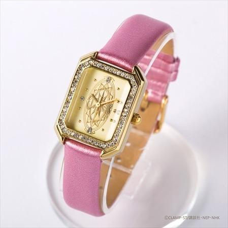 カードモチーフ腕時計 さくらカード12,960円(税込)(C)CLAMP・ST/講談社・NEP・NHK