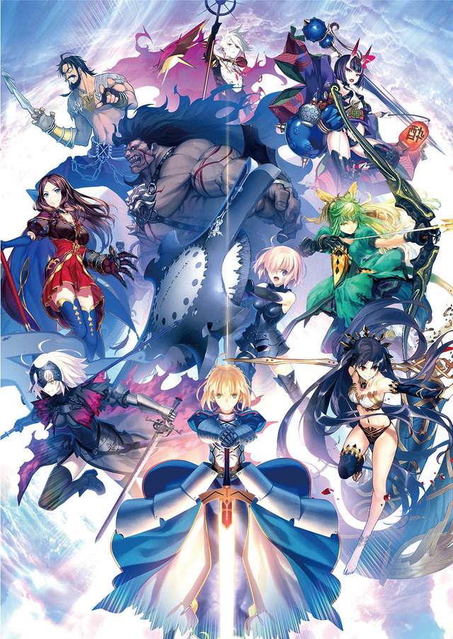『Fate/Grand Order Arcade』キービジュアル(C)TYPE-MOON / FGO ARCADE PROJECT