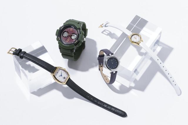 「『刀剣乱舞-ONLINE-』コラボレーション腕時計」(全4種)(C)2015-2018 DMM GAMES/Nitroplus