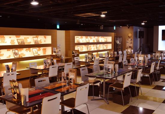 『カウボーイビバップ』×「アニメイトカフェ」客席(c)SUNRISE
