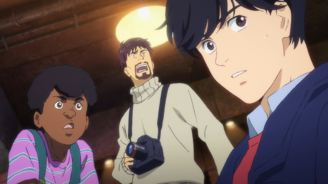 TVアニメ『BANANA FISH』場面写真(C)吉田秋生・小学館/Project BANANA FISH