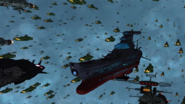 『宇宙戦艦ヤマト2202 愛の戦士たち』第六章「回生篇」場面写真(C)西崎義展/宇宙戦艦ヤマト2202製作委員会