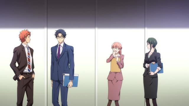 TVアニメ『ヲタクに恋は難しい』第1話(C)ふじた・一迅社/「ヲタ恋」製作委員会