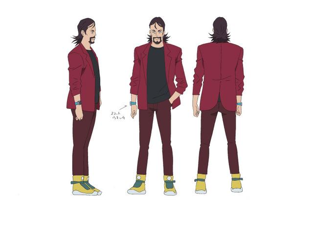 新キャラクター「エンゾ」原作:モンキー・パンチ (C)TMS・NTV