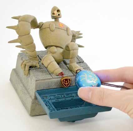 天空の城ラピュタ オルゴールサウンドトレー 復活!ロボット兵 / 4,800円(税別)(C)Studio Ghibli