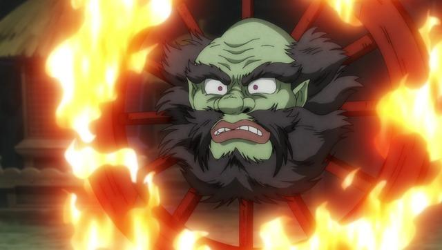 『ゲゲゲの鬼太郎』第13話「欲望の金剛石!輪入道の罠」(C)水木プロ・フジテレビ・東映アニメーション