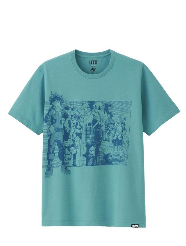 ジャンプ 50thグラフィックT (僕のヒーローアカデミア・半袖)¥990円+税 (C)堀越耕平/集英社