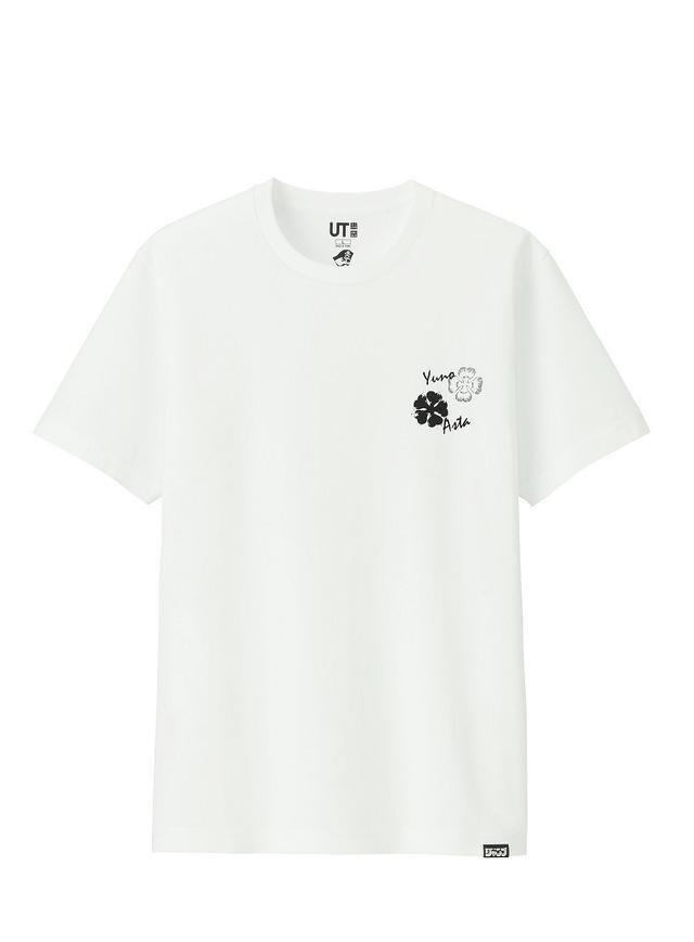 ジャンプ 50thグラフィックT (ブラッククローバー・半袖)¥990円+税(C)田畠裕基/集英社