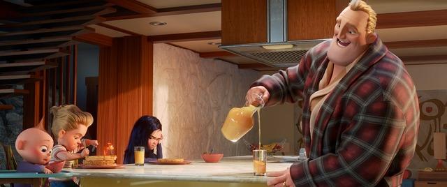 『インクレディブル・ファミリー』(C)2018 Disney/Pixar. All Rights Reserved.