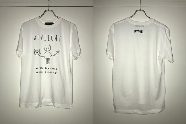 """DEVILMAN crybaby×TOKYO CULTUART by BEAMS """"DEVILCAT""""4,000円(税別) (C)Go Nagai-Devilman Crybaby Project"""