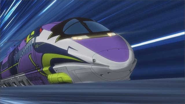 『新幹線変形ロボ シンカリオン』500 TYPE EVA(C)PJ-S・J/S・TBS (C)カラー
