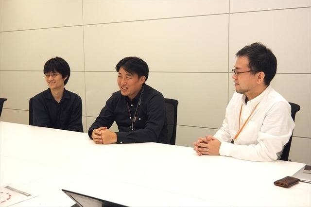 左から下田翔大氏、大桑哲也氏、濱坂真一郎氏