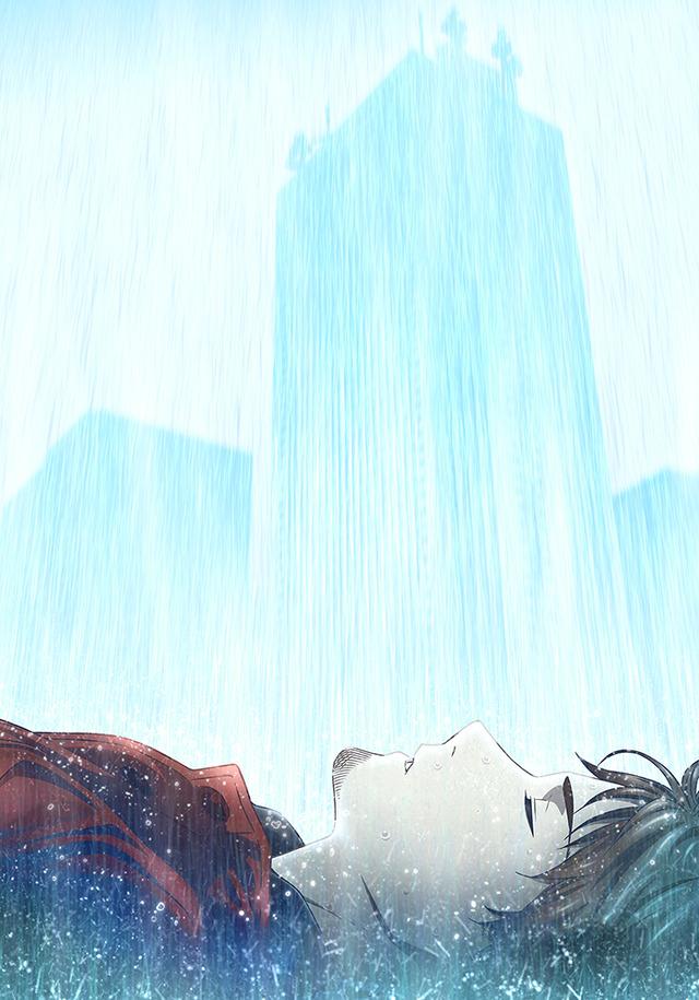 TVアニメ『消滅都市』ティザービジュアル(C)Wright Flyer Studios/消滅都市製作委員会