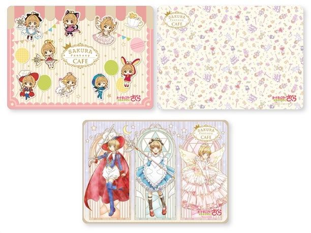 「SAKURA Fantasy Cafe」ランチョンマット(C) CLAMP・ST/講談社・NEP・NHK