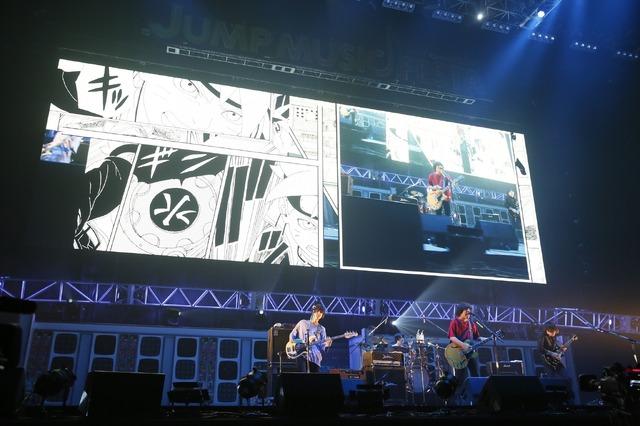 「JUMP MUSIC FESTA」DAY1 オフィシャルスチール KANA-BOON