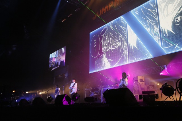「JUMP MUSIC FESTA」DAY1 オフィシャルスチール サカナクション