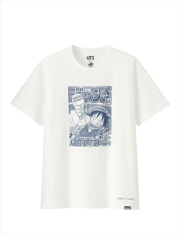 ジャンプ50thグラフィックT(ONE PIECE・半袖)990円(税別)(C)尾田栄一郎/集英社