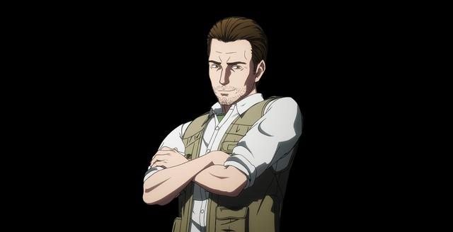 TVアニメ『INGRESS THE ANIMATION』ハンク・ジョンソン (C)「イングレス」製作委員会