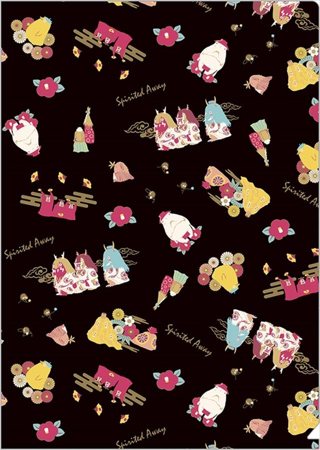 「千と千尋の神隠し×神様ちらしシリーズ」「クリアファイル/神様ちらし」270円(税込)(C)Studio Ghibli